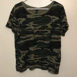 Women's Forever 21 short sleeved t-shirt, large